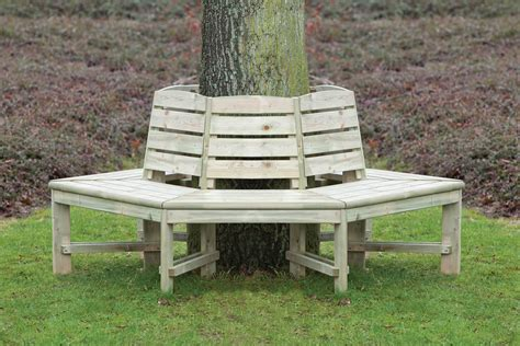 hexagonal tree bench tree seat hexagonal