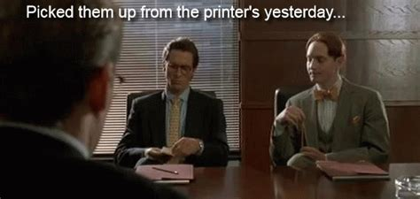 American Psycho Business Card Gif