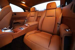 Rolls Royce Seats 2014 Rolls Royce Wraith Rear Interior Seats Photo 45