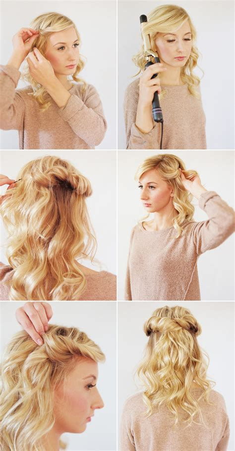 hair tutorial loose halo hair tutorial wedding inspiration 100 layer