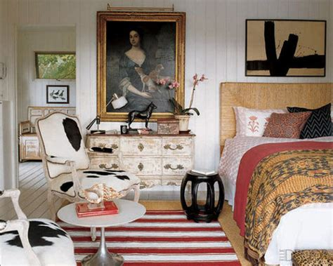 Marvelous Bohemian Style Bedroom Furniture #5: Elle-decor-Sept-2007-Mod-mod-world-eclectic-bedroom.jpg