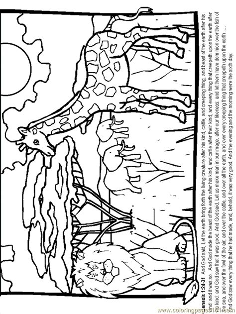 creation coloring pages pdf the story of creation colouring pages page 2 coloring home