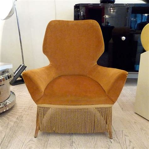low armchairs italian low armchairs attributed to luigi saita for sale