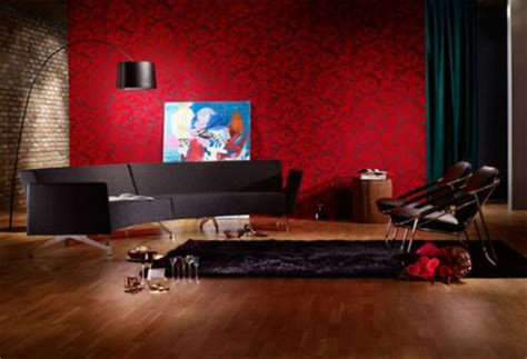 rotes schwarzes und weißes wohnzimmer 90 neue tapeten farben ideen teil 2 archzine net