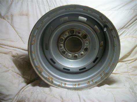 find used chevy rally wheel 15 x 8 chevrolet gmc truck
