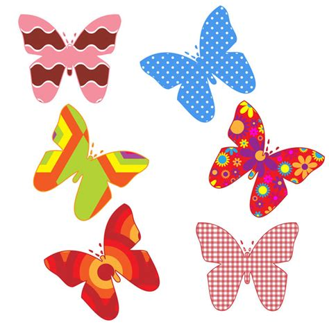 farfalle clipart colorful butterflies clipart free stock photo