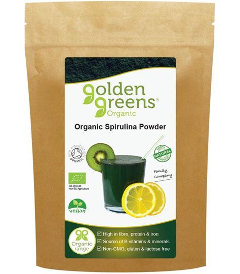 Organic Spirulina Powder organic spirulina powder golden greens 174 organic nutrition