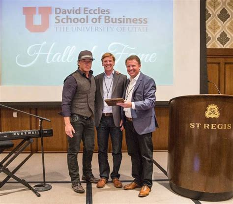 David Eccles School Of Business Mba by Vivint Ceo Todd Pedersen Inducted Into David Eccles School