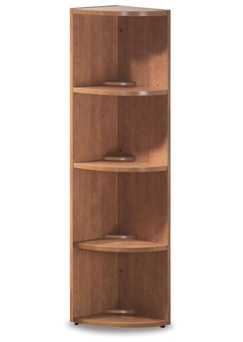 3 Shelf Corner Bookcase Os Laminate Series 3 Shelf Corner Bookcase