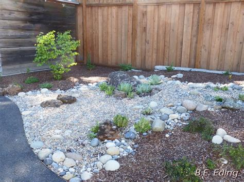 river rock garden bed succulent garden with artistic bed of river rock garden ideas succulents garden