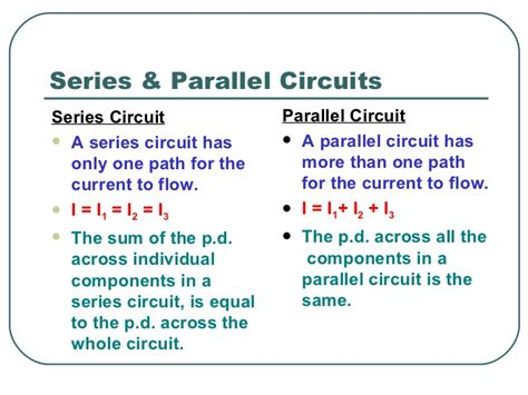 facts about electricity circuits electric circuits ppt slides
