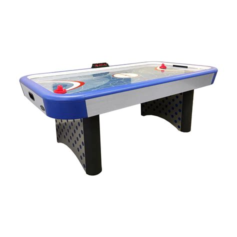 electric air hockey table 7 imperial playmake air hockey table with electronic