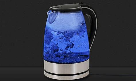 glaswasserkocher mit led beleuchtung wasserkocher mit led beleuchtung groupon goods