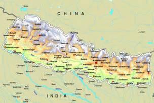 World Map Of Nepal by Map Of Nepal Kingdom Of Nepal Maps Mapsof Net