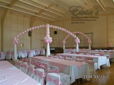 hall decoration ideas halls pink eb party rental 187 eb party rental
