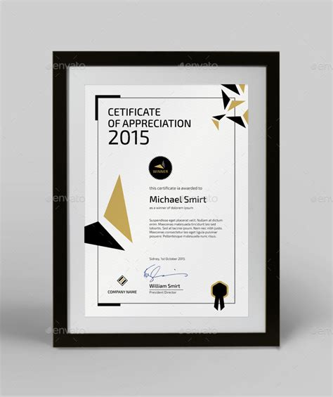 cer remodeling ideas modern certificate template by silukeight graphicriver