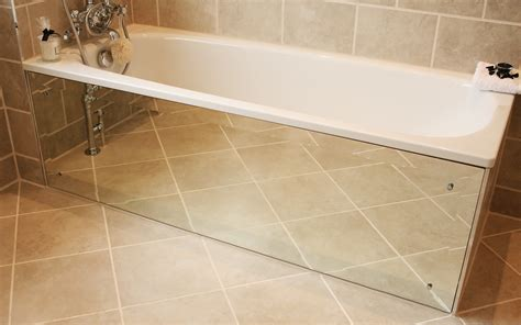Bathrooms Makeovers - how to create a mirrored bath panel moregeous more than gorgeous the house a blog built