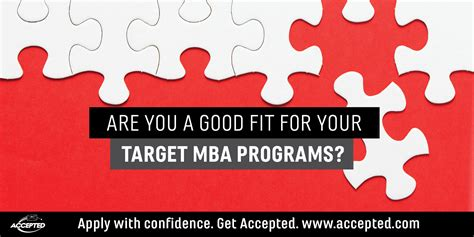 How To Get Your Mba For Free by Are You A Fit For Your Target Mba Programs Accepted