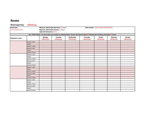 images employee roster list template leseriailcom