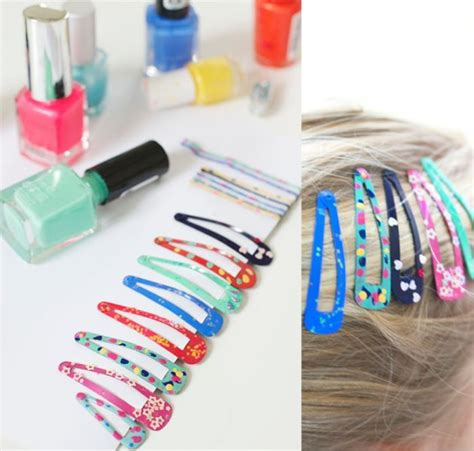 Easy Diy Hair Accessories by Easy Diy Nail Hair To Make With Your