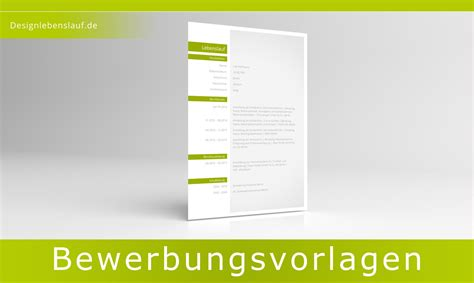 Word Vorlagen Corporate Design Lebenslauf Vorlage Design F 252 R Word Und Open Office