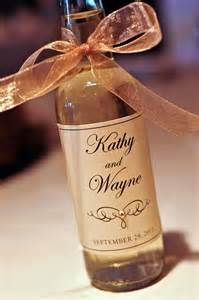 Wine Bottles Wedding Favors by Kindly R S V P Designs Wedding Favors Wedding