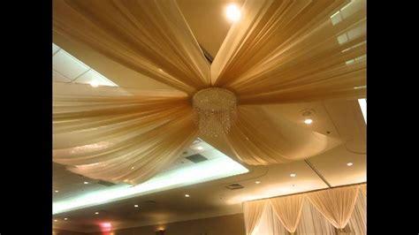 Ivory theme wedding decor calgary   YouTube