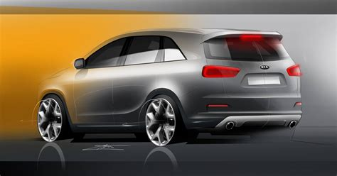 New 2016 Kia Sorento Next 2016 Kia Sorento Rendered Autoevolution