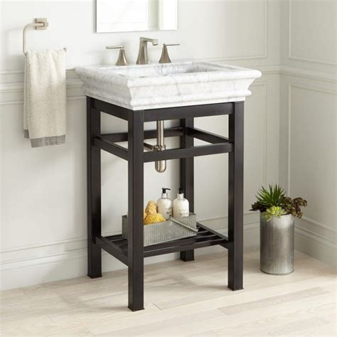 carrara marble console sink best 25 carrara marble ideas on bathroom