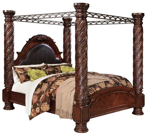 Shore Canopy Beds Shore King Poster Bed With Canopy From