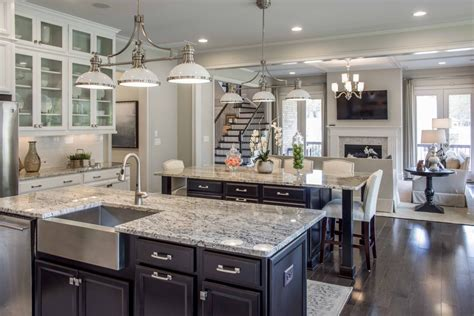 double kitchen island designs fielding homes on twitter quot we love the double island