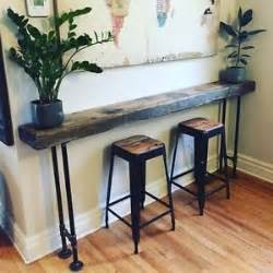 industrial pipe console table 17 best ideas about rustic console tables on
