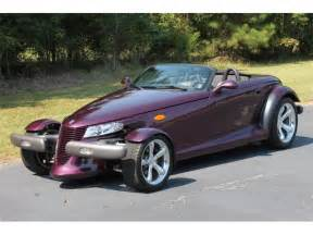 1999 Chrysler Prowler 1999 Plymouth Prowler Information And Photos Momentcar