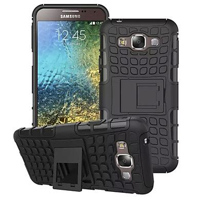 Rugged Armor Samsung Galaxy E5 E7 Soft Casing Back Cove T3009 Buy Samsung Galaxy Shockproof Stand Back Cover