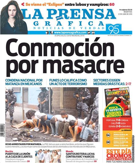 ultimas noticias de afp el salvador newspaper la prensa gr 225 fica el salvador newspapers in