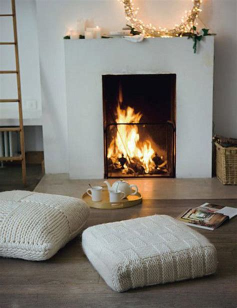 cozy fireplace informal ideas creating small and cozy seating areas