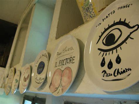 ibis libreria la libreria di ceramica piatti dipinti dallo scrittore