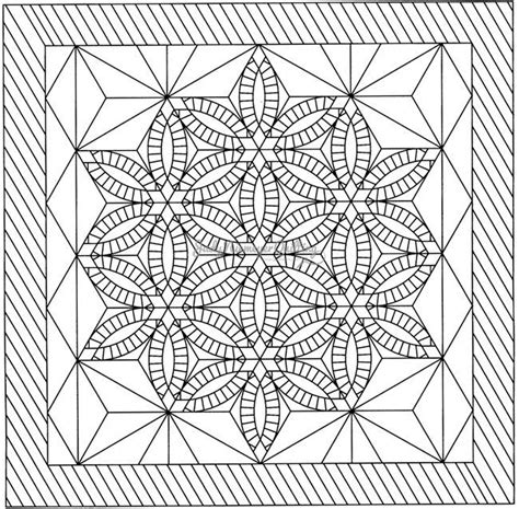 quilt pattern drawing diamond wedding ring line drawing quiltworx com made by
