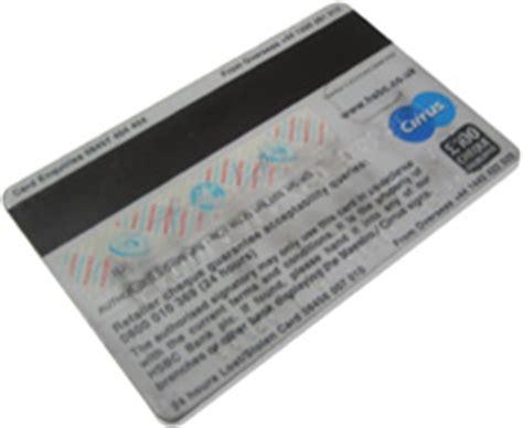 Credit Card Data Format Magnetic Stripe Gcse Bitesize Automatic Input Devices