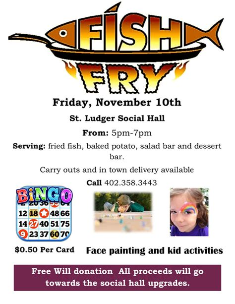 Fridays For November 10th by County News Creighton News Creighton Nebraska