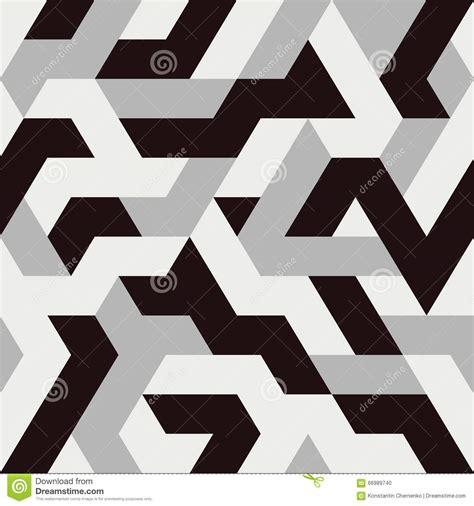 triangle pattern vector illustrator abstract triangle seamless pattern stock vector image