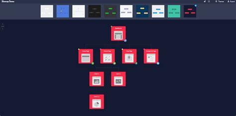 ui layout toggle mockflow sitemap create sitemaps and ui flows