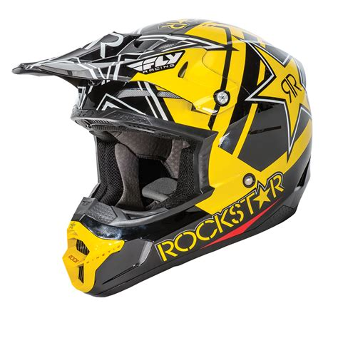 fly racing motocross fly racing kinetic pro rockstar motocross helmet secret