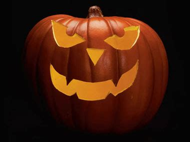 simple scary pumpkin carving patterns