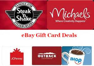 Jcpenney Gift Card Deal - up to 25 on gift cards save on babies r us ihop jcpenney more ftm