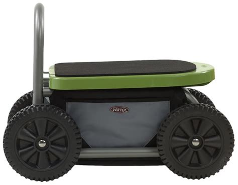 Gardening Seat With Wheels easy up atv gardening seat on wheels yard carts patio lawn garden