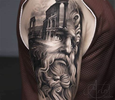 zeus tattoos zeus by arlo tattoos best tattoos