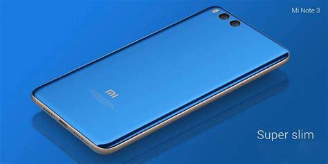 Xiaomi Mi Note 3 Ram 6gb Rom 64gb xiaomi mi note 3 5 5 inch unlock 6gb ram 128gb rom