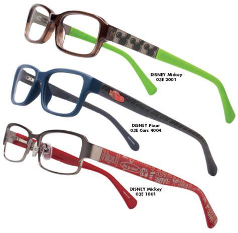 mcqueen spectacle frames luxottica disney eyewear