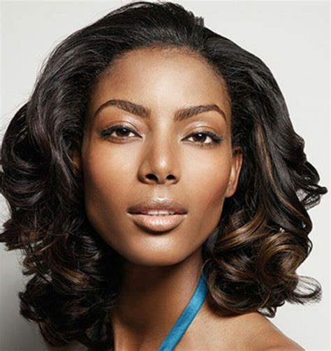 how to get loose waves in african american hair loose curls hair relaxed weaved wigs black african